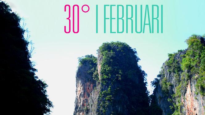 30 grader i februari